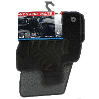 Tapis de sol Tapis moquette pour Seat Ateca ap16 sur mesure 4 pieces Carplus