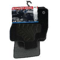 Tapis de sol Tapis moquette pour Seat Leon 3 ap12 sur mesure 4 pieces Carplus