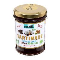 Tartinage Sucre COCOLIA Tartinade de noix de coco. cacao et noisettes bio - 215 g