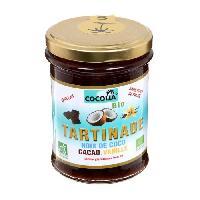 Tartinage Sucre COCOLIA Tartinade de noix de coco. cacao et vanille bio - 215 g