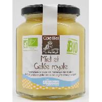 Tartinage Sucre COTE MIEL Préparation de Miel et de Gelée Royale Bio - 375 g