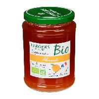 Tartinage Sucre Confiture extra abricot bio - Vergers des Alpilles - 370 g
