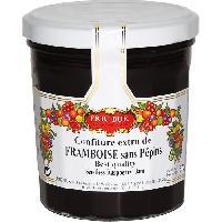 Tartinage Sucre Confiture framboise ss pépins - Generique