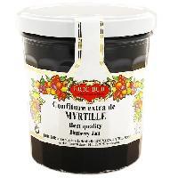 Tartinage Sucre ERIC BUR Confiture Extra Myrtilles - 370 g