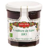 Tartinage Sucre ERIC BUR Confiture Fraise Bio 230g