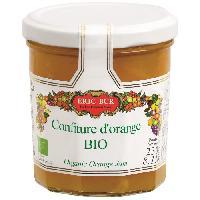 Tartinage Sucre ERIC BUR Confiture d'Orange Bio 230g