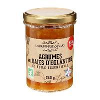 Tartinage Sucre LA BARONNIE DES LYS Confiture aux agrumes et huile essentielle bio - 250 g