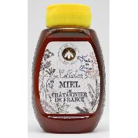 Tartinage Sucre LES APICULTEURS ASSOCIES Miel de Chataignier de France Squeezer - 250 g