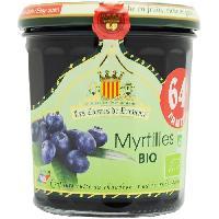 Tartinage Sucre LES COMPTES DE PROVENCE Confiture de Myrtilles Bio - 350g