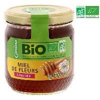 Tartinage Sucre Miel de fleurs liquide - Bio - 500g