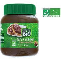 Tartinage Sucre Pate a tartiner aux noisettes bio - 400 g