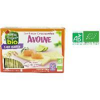Tartinage Sucre Tartine craquante avoine sans gluten bio - 150 g