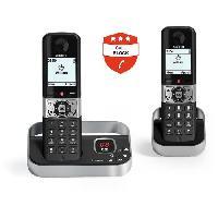 Telephonie Fixe ALCATEL - F890 voice duo noir