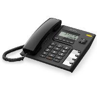 Telephonie Fixe Alcatel T56 Noir Sans Répondeur Filaire