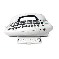 Telephonie Fixe GEEMARC Téléphone fixe grosses touches sénior AMPLIPOWER 50 - Blanc