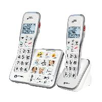Telephonie Fixe GEEMARC Telephone sans fil grosses touches senior AMPLIDECT 595-2 PHOTO
