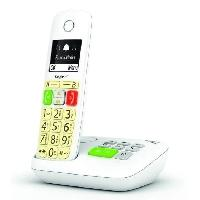 Telephonie Fixe GIGASET Téléphone Fixe E290 A Blanc