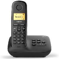 Telephonie Fixe Gigaset A270 A Solo avec répondeur Noir