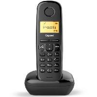 Telephonie Fixe Gigaset A270 Solo sans répondeur Noir