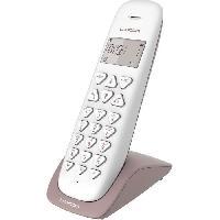 Telephonie Fixe LOGICOM Double téléphones sans fil VEGA 250 DUO Taupe sans répondeur