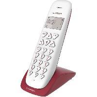 Telephonie Fixe LOGICOM Téléphone sans fil VEGA 150 SOLO Framboise sans répondeur