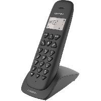 Telephonie Fixe LOGICOM VEGA 105T Téléphone sans fil avec répondeur - Noir