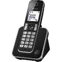 Telephonie Fixe PANASONIC KX-TGD310FR - Téléphone numérique sans fil Noir