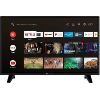 Televiseur CONTINENTAL EDISON Android Smart TV LED HD - 32(80 cm) -WiFi - Bluetooth - HDMIx2 - USBx2 - Commande Vocale