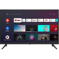 Televiseur CONTINENTAL EDISON Android TV LED HD - 32(80 cm) - WiFi - Bluetooth - HDMIx3 - USBx2 - Commande Vocale