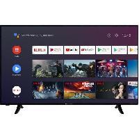 Televiseur CONTINENTAL EDISON CELED65SA20B3 TV LED 4K UHD - 65 (164cm) - Smart  TV - WiFi - Bluetooth - Android - 4xHDMi - 2xUSB