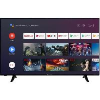 Televiseur CONTINENTAL EDISON TV LED ANDROID SMART 4K UHD - 50(126cm) - Wi-Fi- Bluetooth - 4xHDMI - 2xUSB