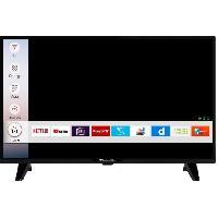 Televiseur Continental Edison Smart TV LED 32'' (80 cm) - HD -Wi-Fi  Netflix You Tube
