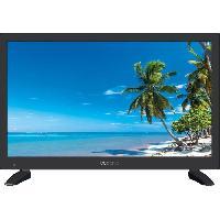 Televiseur Oceanic TV LED 19.5' (49.5 cm) HD (1366x768) Caravaning Adaptateur 12 volts 1*HDMi 1*USB PVR Ready