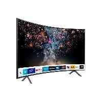 Televiseur SAMSUNG UE49RU7372 TV LED 4K UHD 123 cm (49) -  Ecran Incurvé - SMART TV -  3 x HDMI - 2 x USB - Classe énergétique A