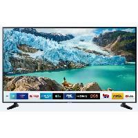 Televiseur SAMSUNG UE58RU6105KXXC TV 4K UHD - 58 (146cm) - HDR 10+ - Dolby Digital Plus - Smart TV - 3xHDMI -2xUSB - Classe énergétique A+