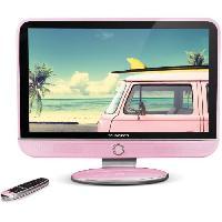 Televiseur SCHNEIDER FEELING'S LED32PK TV LED HD - 32 -80cm- - Dolby Digital - E-LED - 3xHDMI - 1xUSB - Rose