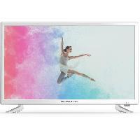 Televiseur SCHNEIDER LD24-SCH13WHT TV LED HD - 24 -60cm- - Fonction PVR - Dolby digital - 1xHDMI - 1xUSB - Blanc