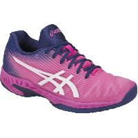 Tennis ASICS Chaussures de tennis Solution Speed - Femme - Rose - 36