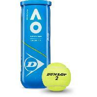 Tennis DUNLOP - Balles de Tennis Australian Open - Tube de 3 balles