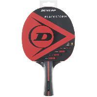 Tennis De Table - Ping Pong Raquette de tennis de table - DUNLOP - BLACKSTORM