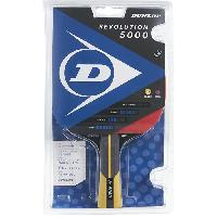 Tennis De Table - Ping Pong Raquette de tennis de table - DUNLOP - REVOLUTION 5000