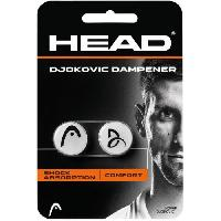 Tennis HEAD Anti-vibrateur DJOKOVIC DAMPENER - Noir