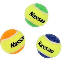 Tennis NASSAU 3 mini balles de tennis