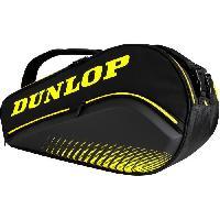 Tennis Sac de padel - DUNLOP - PALETERO ELITE Black-Yellow -Mieres-