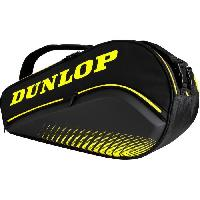 Tennis Sac de padel - DUNLOP - PALETERO ELITE Black/Yellow (Mieres)
