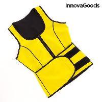 Textile Technique INNOVAGOODS Gilet-ceinture de sport avec effet sauna - Femme - Taille L