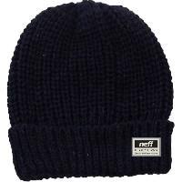 Textile Technique NEFF Bonnet Q14F03022 Glazgow - Bleu marine - Homme