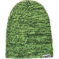Textile Technique NEFF Slashy Bonnet - Noir / Vert - Homme