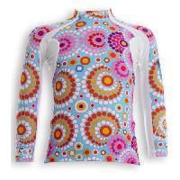 Textile Technique UVEA Teeshirt rashguard anti UV 80+ maillot manches longues INDIANA - Taille 2-4 ans - Couleur galet