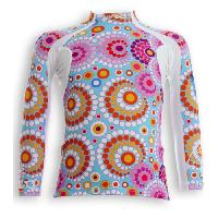 Textile Technique UVEA Teeshirt rashguard anti UV 80+ maillot manches longues INDIANA - Taille 2/4 ans - Couleur galet